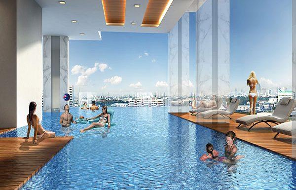 The-Rich-Sathorn-Taksin-bangkok-condo-for-sale-swimming-pool